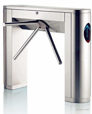 China Double Direction Speed Gate Turnstile SUS304 With IC / ID Card Readers supplier