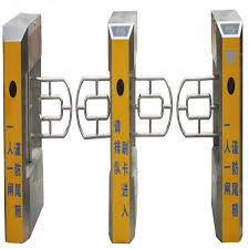 China Electronic Security Entrance Subway Turnstile Sus304 For Residential supplier