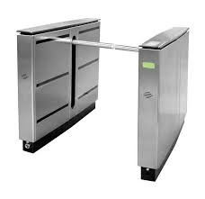 China CE Approved Train Station Drop Arm Turnstile With Fast Speed  Entry Systems supplier
