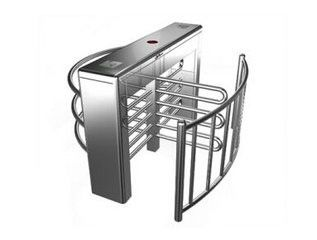 China 120W Double Motor Subway Turnstiles , Building Access Control System distributor