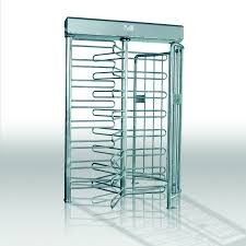China Intelligent Security Full Height Turnstile , Controlled Access Turnstiles distributor