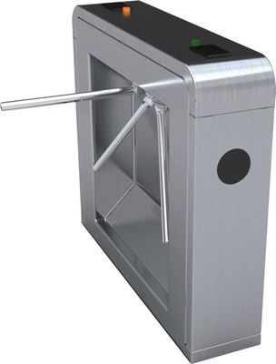 China Stainless Steel Tripod Train Station Turnstile Building Access Control System distributor