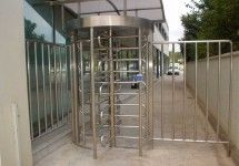 China RS485 One - Way Direction Full Height Turnstile Entrance Gate , Security Turnstiles 0.2s distributor