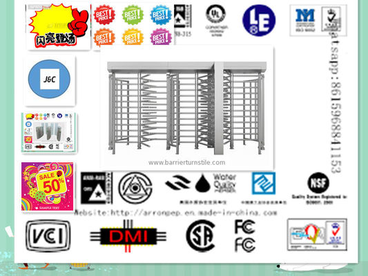 China Jc-B183 Full Height Turnstile Security & Protection FOR industry , Building distributor