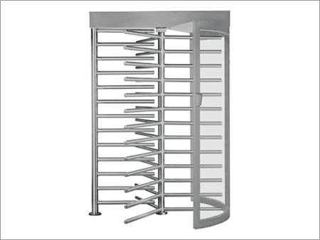 Stainless Steel Manual Full Height Turnstile ESD Static Speed Gate Systems for library