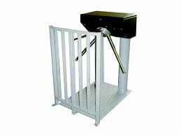 China Electronic Controlled Access Optical Turnstiles For Attendance Channel supplier