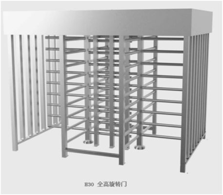 China Stainless Steel Manual Full Height Turnstile ESD Static Speed Gate Systems for library supplier