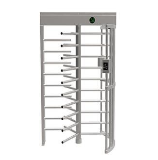 China Semi Automatic Entrance Security Gates , 30 Person / Min Speed Full Height Turnstile supplier