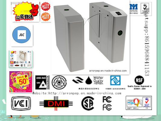 China Bi-Directional Security Bus Subway Turnstile /  Automatic Turnstile RFID Smart distributor