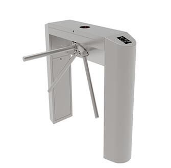 China Semi - Automatic Vertical  Tripod Turnstile Gate Electronic Turnstiles For Airport factory