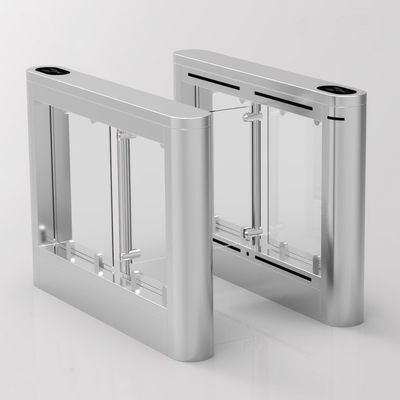 800mm Lane Width DC Motor Swing Barrier Turnstile For Subway