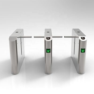 12v Dry Contact Optical Drop Arm Turnstile For Mansion
