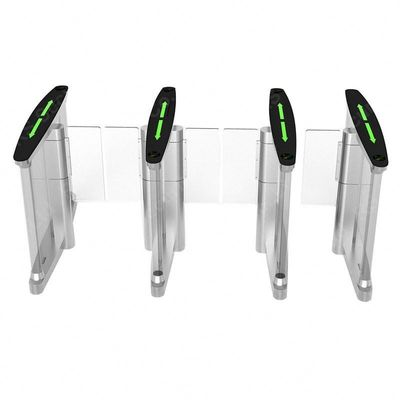 Face Recognition RS232 SUS316 Turnstile Security Gates